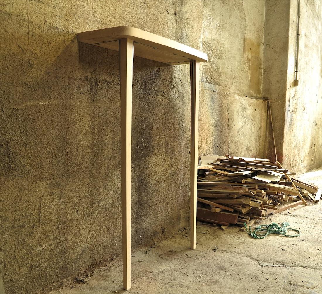 100 sdb noyer corian raboniak mobilier biblioth que for Mobilier sdb