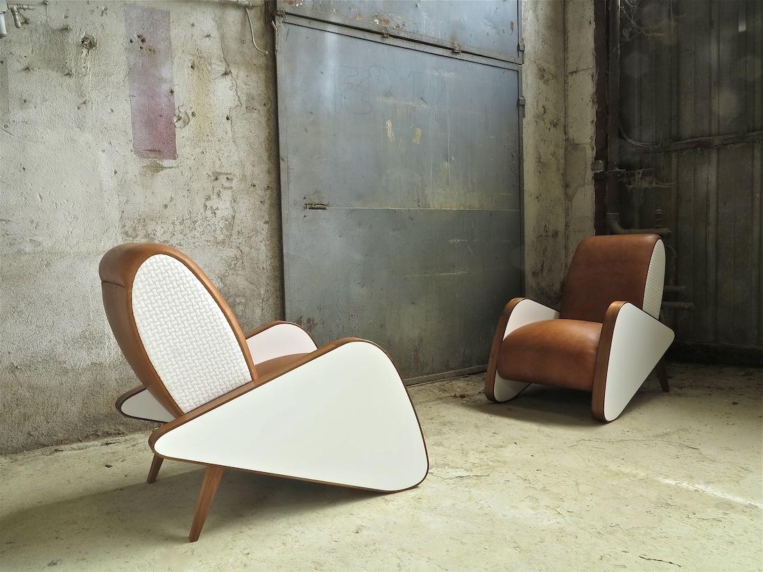 Fauteuil gf raboniak mobilier design for Mobilier design fauteuil