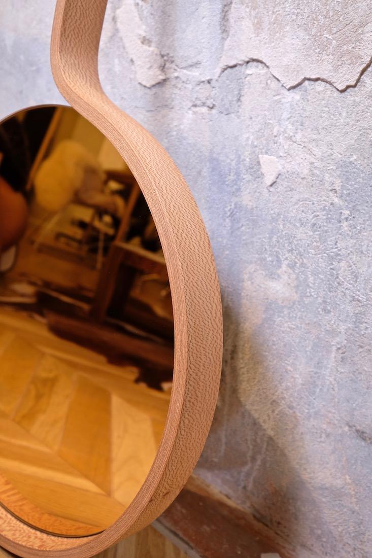 Miroir Mi02 cuivre Raboniak Mobilier Design